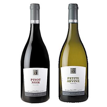 【スイス 赤・白ワイン】スイス プロヴァンヴァレー高級ワインセット【楽ギフ_のし】