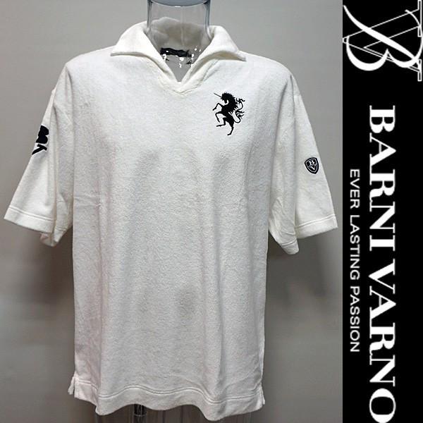 バーニヴァーノ・半袖パイル地ポロシャツ(3L) 18 春夏 SS 新作 BSS-HPL2834-3L-01 BARNI VARNO (3L)