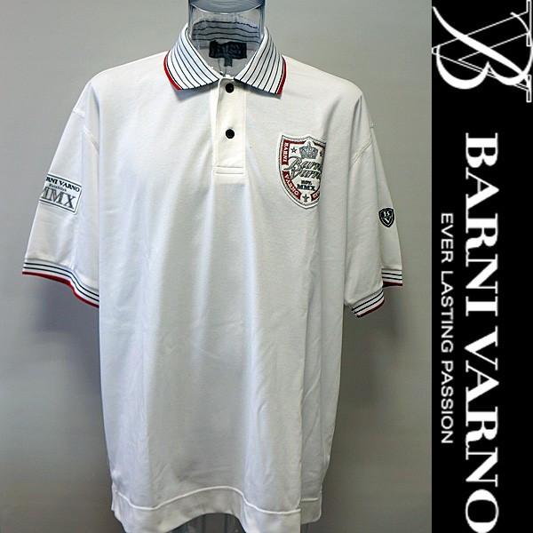 バーニヴァーノ・半袖ポロシャツ(LL) 18 春夏 SS 新作 BSS-HPL2842-LL-01 BARNI VARNO (LL)