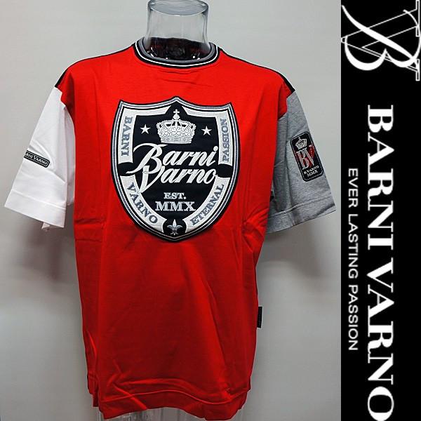 バーニヴァーノ・半袖Tシャツ(L) 18 春夏 SS 新作 BSS-HTH2828-L-45 BARNI VARNO (L)