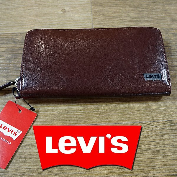 Levi's リーバイス オリジナル 正規品 財布 1112820302 長財布 牛革