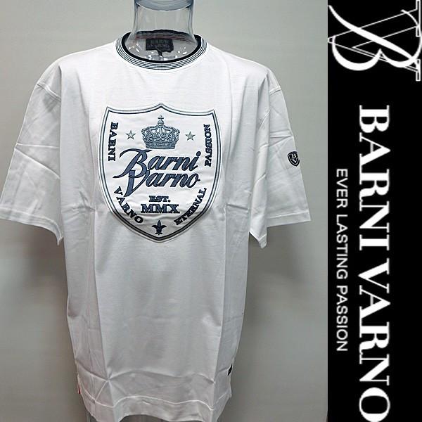 【 SALE 】バーニヴァーノ・半袖Tシャツ(LL) 18 春夏 SS 新作 BSS-HTH2853-LL-01 BARNI VARNO (LL)【 セール 】