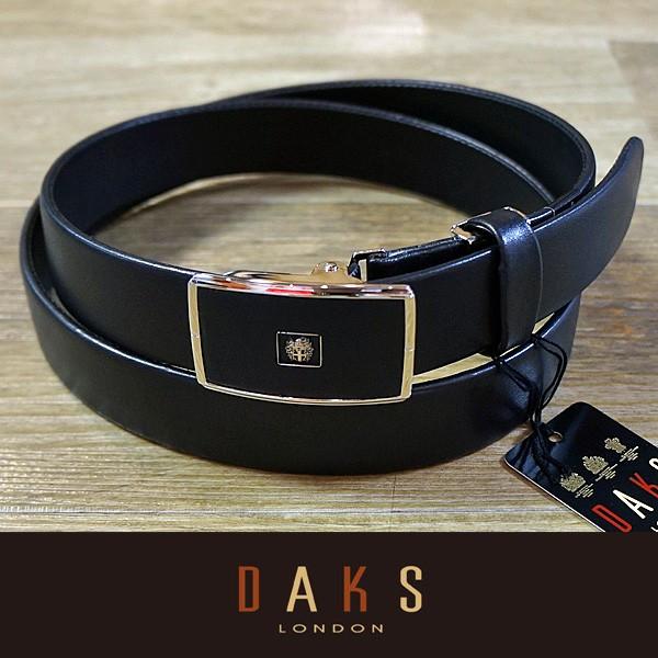 DAKS ダックス ベルト バックル式 スライド式 牛革 袋縫無双仕立 DB35710-01 日本製