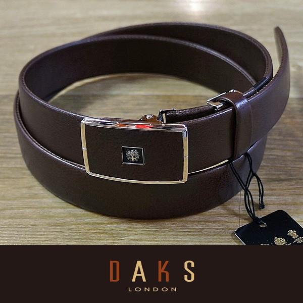 DAKS ダックス ベルト バックル式 スライド式 牛革 袋縫無双仕立 DB35710-02 日本製