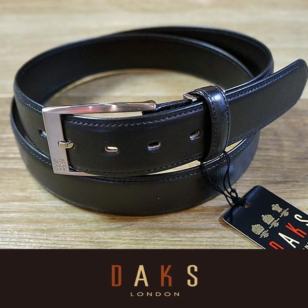 DAKS ダックス ベルト 牛革 DB39910-01 日本製