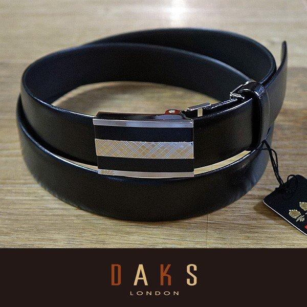 DAKS ダックス ベルト バックル式 スライド式 牛革 DB27012-01 日本製