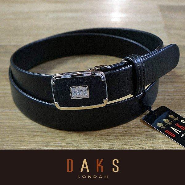 DAKS ダックス ベルト バックル式 スライド式 牛革 袋縫無双仕立 DB30910-01 日本製