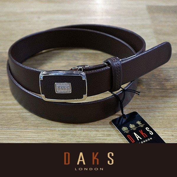 (父の日 ギフト)DAKS ダックス ベルト バックル式 スライド式 牛革 袋縫無双仕立 DB30910-02 日本製(ラッピング無料)