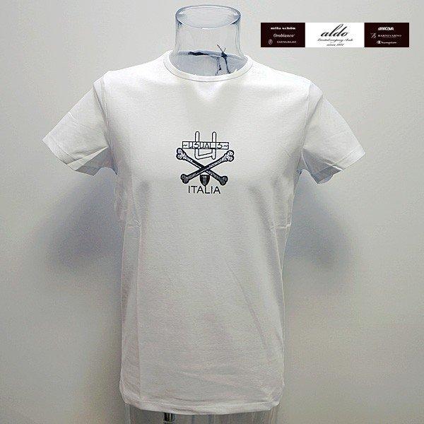 ウザリス UZUALIS 19 春夏 SS 新作 半袖Tシャツ(L) (XL) (XXXL) イタリア製 91-2504-60-01 U7070M