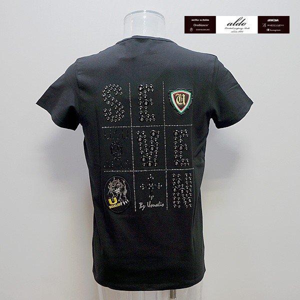 ウザリス UZUALIS 19 春夏 SS 新作 半袖Tシャツ(L) (XXXL) イタリア製 91-2706-60-05 U7268M