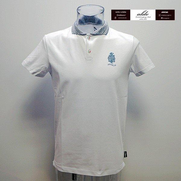 ウザリス UZUALIS 19 春夏 SS 新作 半袖ポロシャツ(L) (XL) イタリア製 91-2802-60-01
