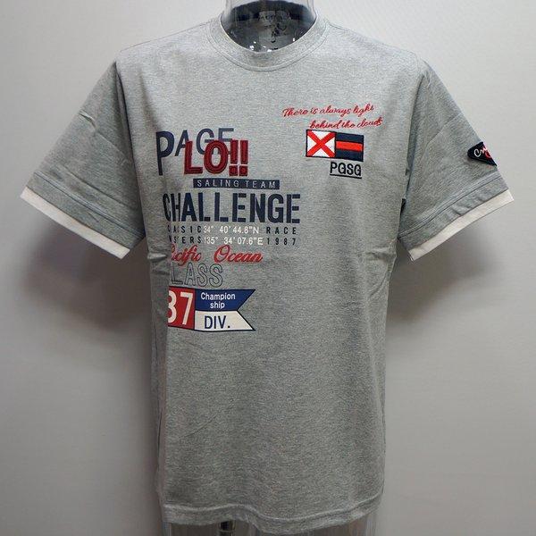 ロゴ キャラクターが豊富なPAGELO PAGELO 人気海外一番 初回限定 パジェロ 21 春夏 半袖Tシャツ 11-2581-07-35-3L SS 3L 新作