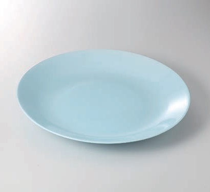 青磁42cm大皿 美濃焼