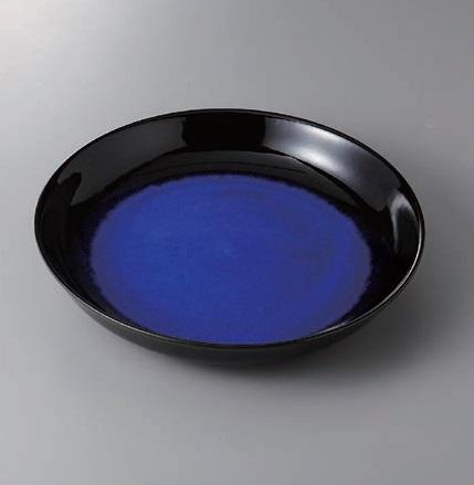 有田焼 ルリ天目10号鉦鉢