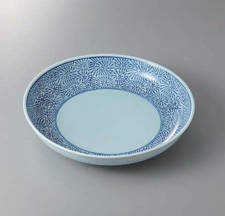有田焼 タコ唐草12号鉦鉢