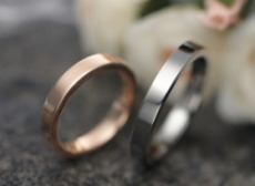 Papin key ring No.1-BK Silver 925, silver brand PMR_PLANE flat pair pinky ring PMR200-PK 1 No. 2 No. 3 No. 4, 5, 6, 7, 8, 9, 10, 11, 12, 13, men's women's pinky pinky Papin key simple
