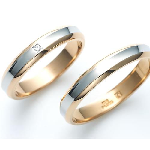 Beautiful Wedding Rings.Beautiful Wedding Ring Pt900 Platinum K18 Gold Wedding Rings Engraved Free Pairing Destiny Destiny Premium Platinum 900 K18 18 K Gold Pink Pair Ring