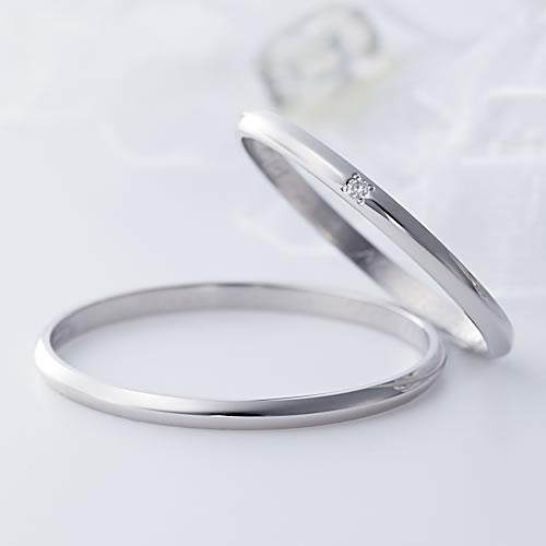 Fiss プラチナハニーペアリング Fiss-P100-Fiss-P100D (honey) プラチナ pt900 1号 2号 刻印無料 偶数号 指輪 シンプル 婚約 記念日 誕生日 プレゼント 婚約指輪 ベビーリング 出産祝い 送料無料