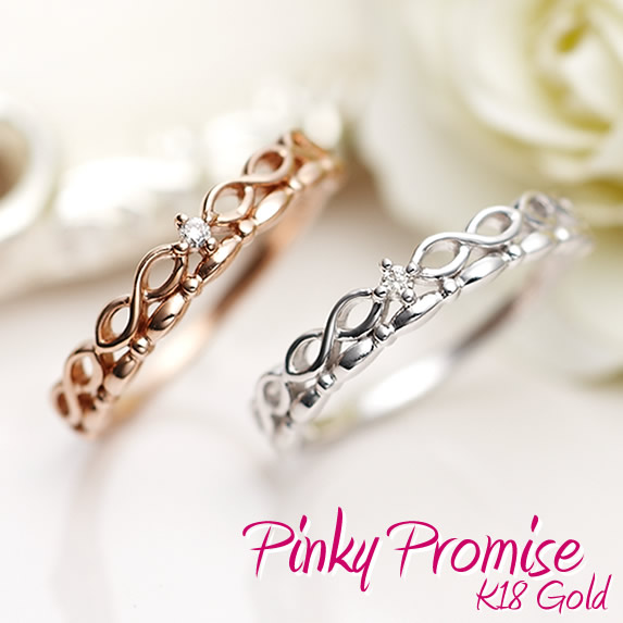 on for rings best pinky white ring her of ideas promise pinterest gold unique