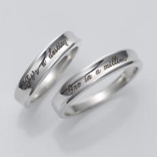 ペアリング 刻印無料 シルバー Million FISS-PR3 (FISS-MSD) 指輪 ペア アクセサリー デザインリング プレゼント 彼女 彼氏 カップル ユニーク ジュエリー シンプル 個性的 お揃い 記念日 誕生日 ペアルック 送料無料