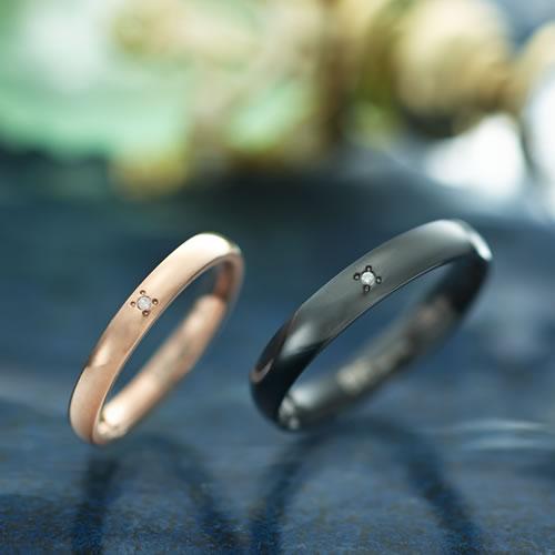 ペアリング ステンレス GRSD135-GRSD136 ブランド EVE ダイヤモンド 刻印 金属アレルギーフリー 指輪 サージカルステンレス316L 7号 9号 11号 13号 15号 17号 19号 21号 ペア カップル ペアルック 誕生日 プレゼント asrk 送料無料 銀婚式 指輪