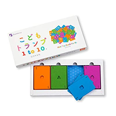 現品 : こどもトランプ1to10 グッドトイ受賞 Kids' Toy Cards 1to10 こどもトランプ1to10R グッドトイ 入学祝 はじめてのトランプ 入園祝 2歳 小学生 マーケティング 4歳 3歳 誕生日 知育玩具