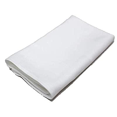 : ESMA 予約販売 ☆最安値に挑戦 日本製 グラスタオル 綿100% 10枚入り 白無地 45×80 業務用 プロ用