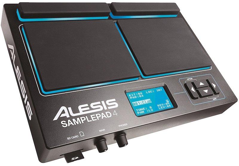 【公式 / 送料無料】Alesis サンプリング パッド 4パッド MIDI端子 SDカード対応 SamplePad 4