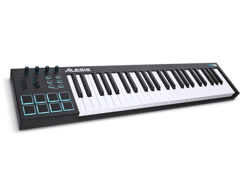 【公式 / 送料無料】Alesis USB MIDIキーボード 49鍵 8パッド Ableton Live Lite付属 V49
