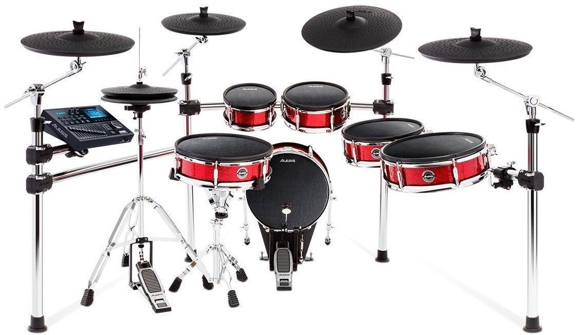 Alesis プロ仕様 電子ドラム キット 11ピース・メッシュヘッド採用 Strike Pro Kit
