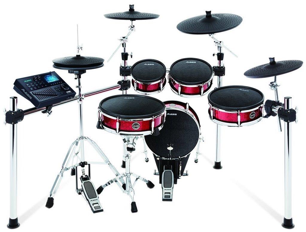 【公式 / 送料無料】Alesis プロ仕様 電子ドラム キット 9ピース・メッシュヘッド採用 (シンバル×3点) Strike Kit