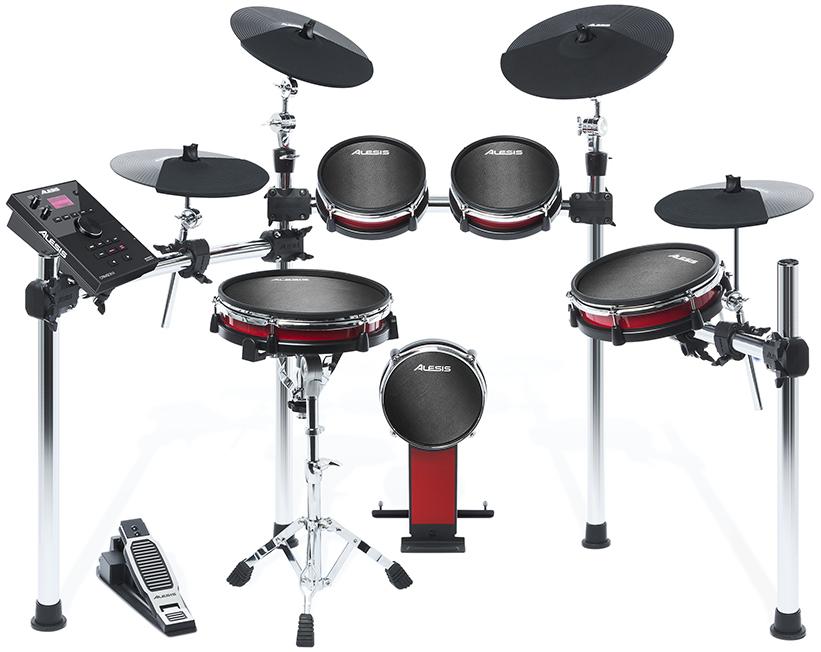 【公式 / 送料無料】Alesis 電子ドラム 9ピース・メッシュヘッド採用 Crimson II Kit