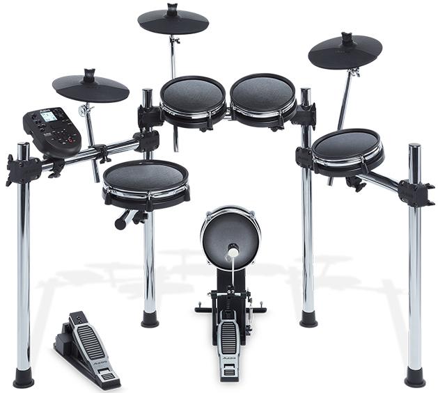 【公式 / 送料無料】Alesis 8ピース・メッシュヘッド採用 電子ドラムキット 【クローム製スタンド、40キット・385サウンド・60ガイドソング付き音源モジュール、USB/MIDI端子】 Surge Mesh Kit