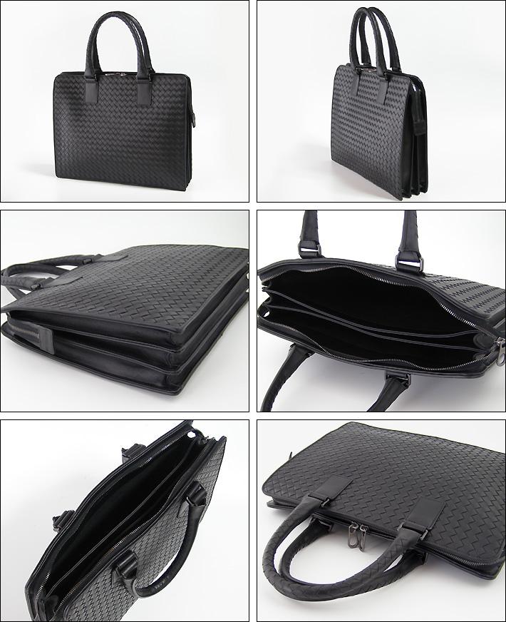 c5e5e6b150 Bottega Veneta bags BOTTEGA VENETA business bag black INTRECCIATO NERO  194669-V4651-1000 03P01Mar15