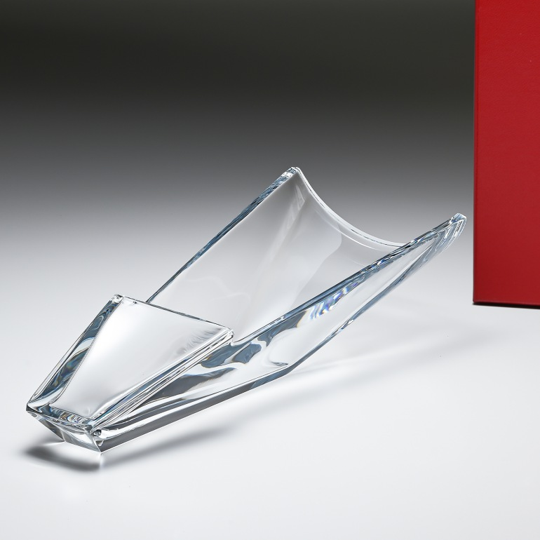 バカラ 花瓶 ベース ディーバ DIVA ブーケ 40cm Sサイズ 1791495
