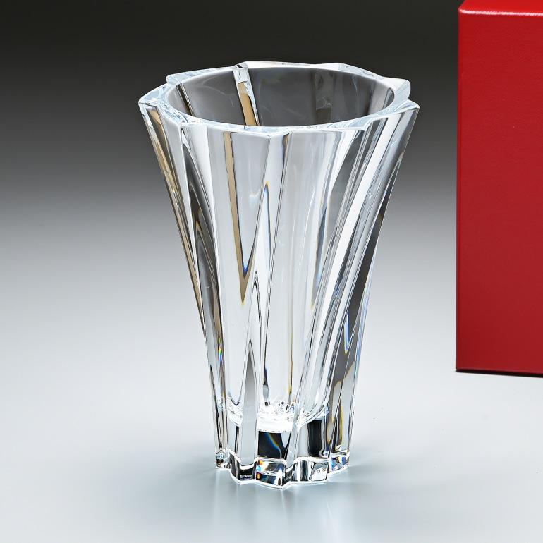 バカラ Baccarat ベース 花瓶 オブジェクティフ 22cm Sサイズ OBJECTIF 2102304