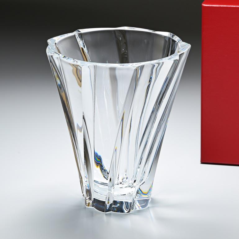 バカラ Baccarat ベース 花瓶 オブジェクティフベース Mサイズ OBJECTIF 2102305