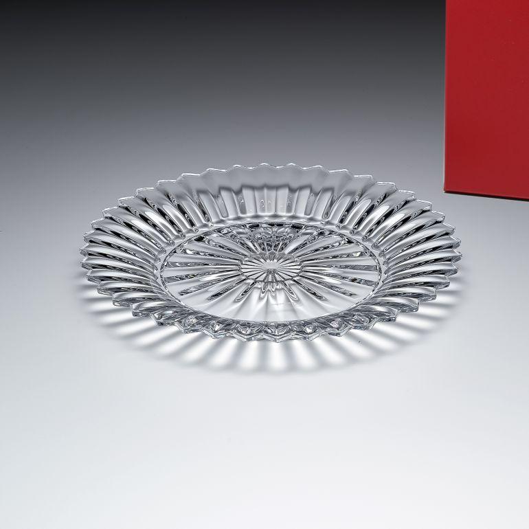 バカラ プレート 飾り皿 ミルニュイ スモールトレイ M 22cm 2103963
