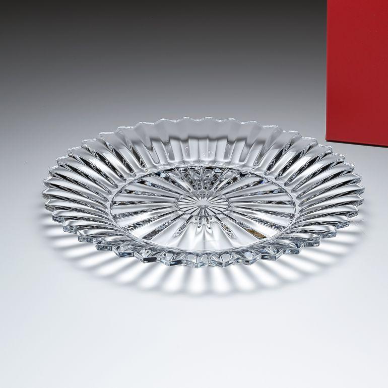 バカラ プレート 飾り皿 ミルニュイ スモールトレイ L 26cm 2104544