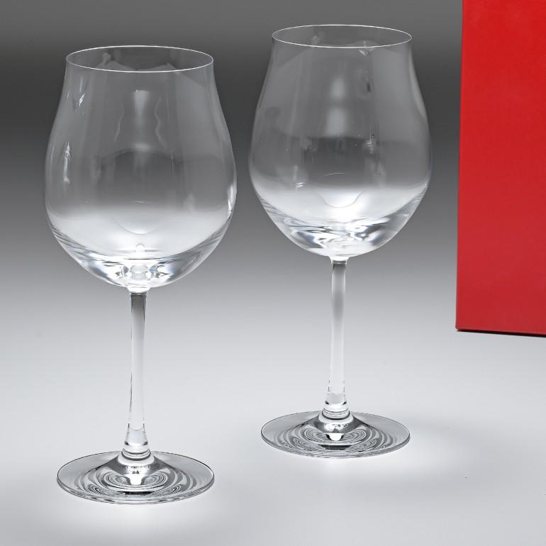 バカラ Baccarat グラス ワイングラス ペア デギュスタシオン DEGUSTATION ブルゴーニュ 25cm 750ml 2610925