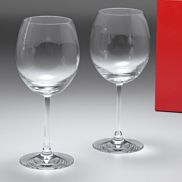 バカラ Baccarat グラス ワイングラス ペア デギュスタシオン DEGUSTATION ボルドー 25cm 750ml 2610926 父の日