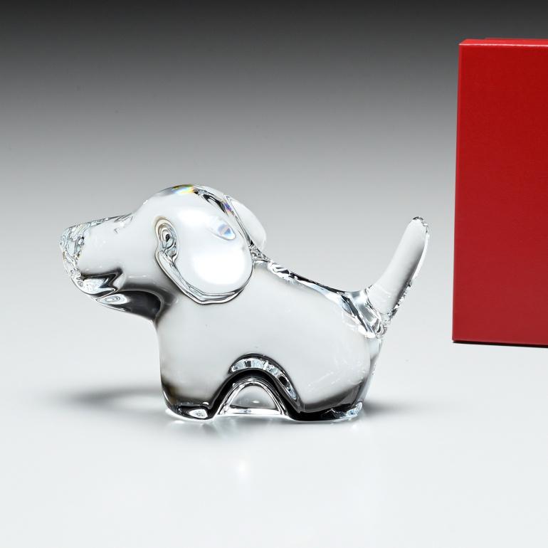 バカラ Baccarat フィギュア ミニマルズ MINIMALS ドッグ イヌ 犬 オブジェ 置物 2802123