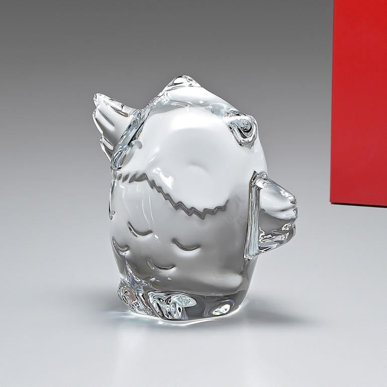 【MAX3000円OFFクーポン配布中】バカラ Baccarat フィギュア ミニマルズ MINIMALS フクロウ 梟 鳥 オブジェ 置物 2802207