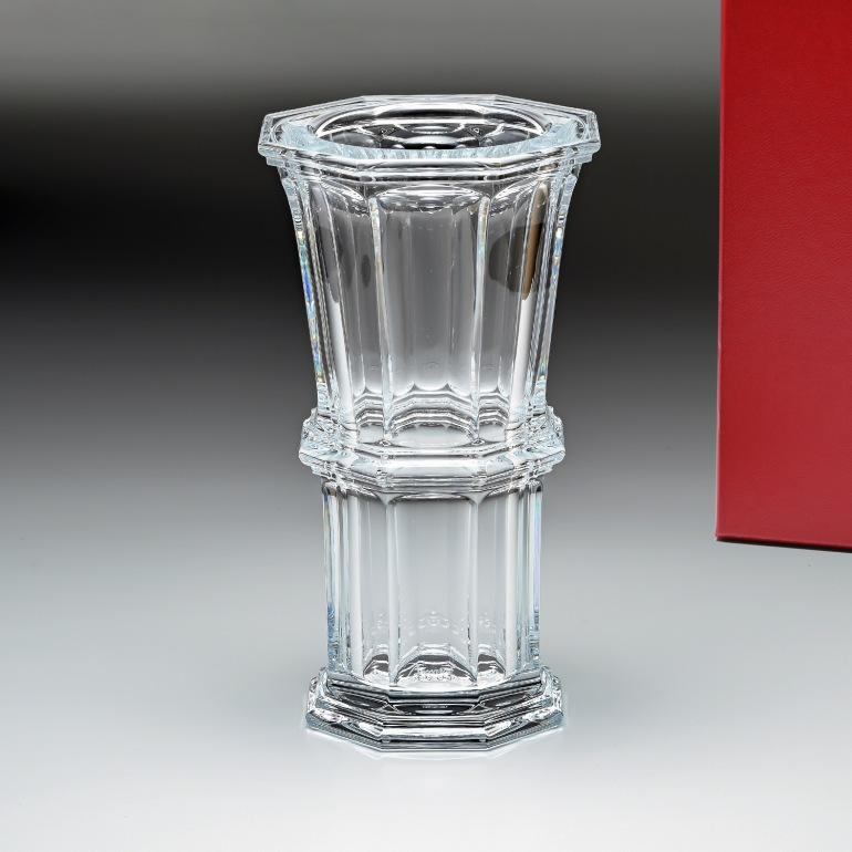 バカラ Baccarat ベース 花瓶 アルクール ストレート 23cm M 2802259