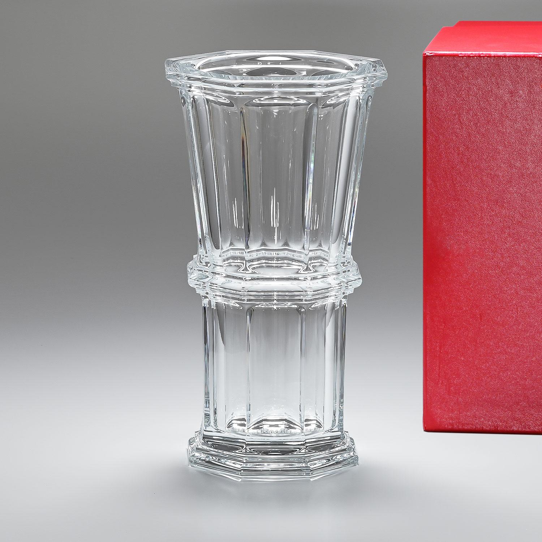 バカラ Baccarat ベース 花瓶 アルクール ストレート 32cm L 2802261