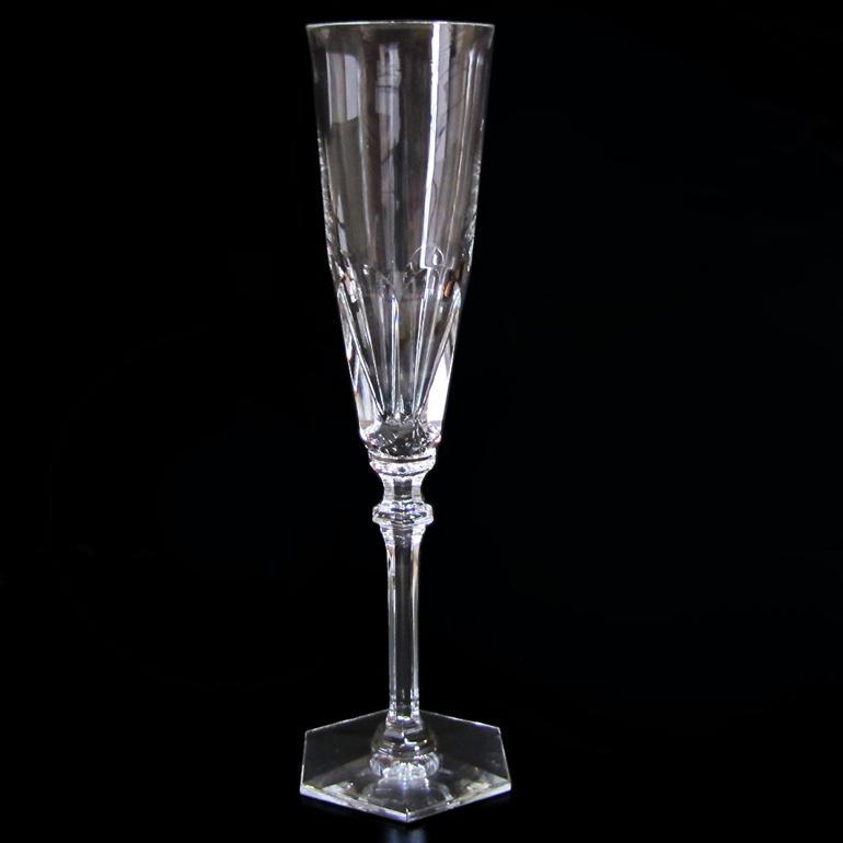 バカラ Baccarat グラス シャンパンフルート アルクール イヴ HARCOURT EVE シャンパングラス 25cm 2802586