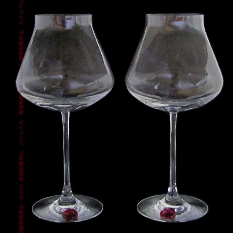 バカラ Baccarat ぺア グラス シャトーバカラ Baccarat ワイングラス XL 24.5cm シーリングワックス 2806404