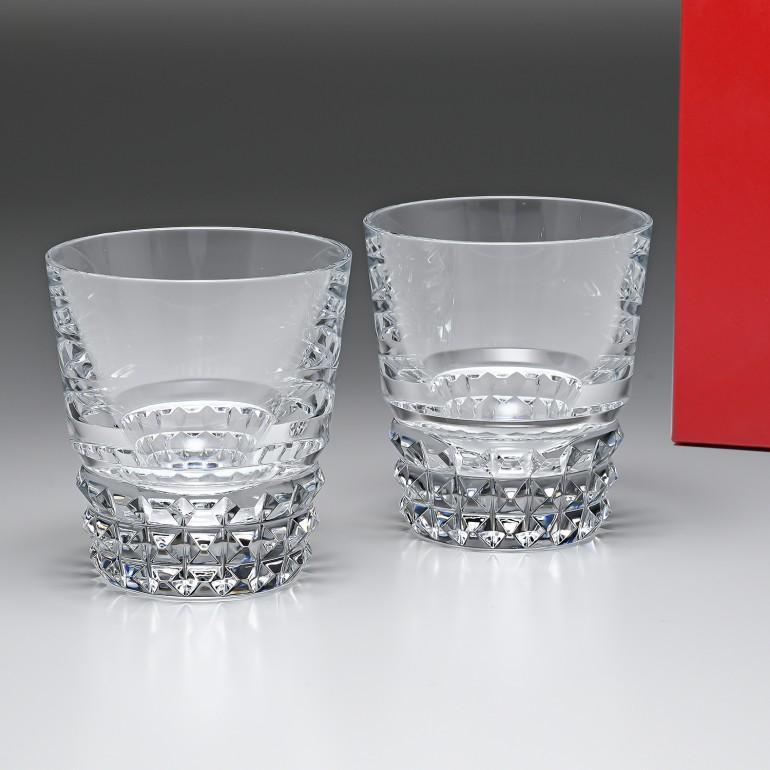 バカラ Baccarat グラス ペア ルクソール LOUXOR タンブラー 9.5cm 2808649