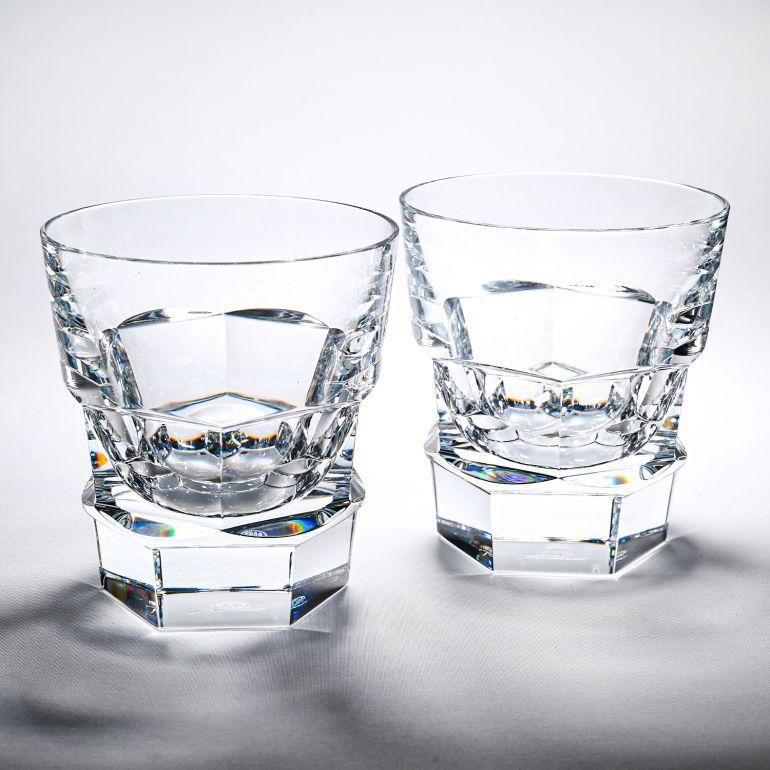 バカラ Baccarat グラス ペア アビス ABYSSE タンブラー 9.5cm 2810593