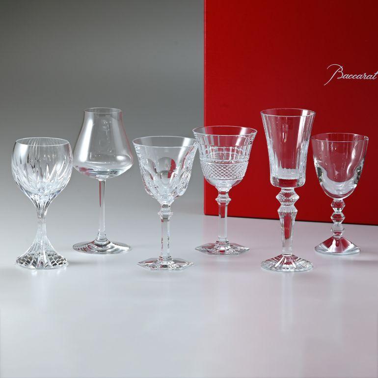 バカラ Baccarat ワイングラス 6脚セット コフレ COFFRET ワインセラピーコフレ WINE THERAPY 6pcsセット 2812727